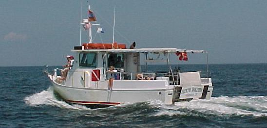 The Silver Dolphin, Connecticut's Largest Dive Boat!